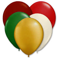 balloon bouquet nyc ultimate christmas 12 inch party balloons bouquet balloon