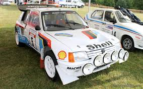 peugeot 205 group b peugeot 205 t16 group b rally goodwood festival of speed 2014
