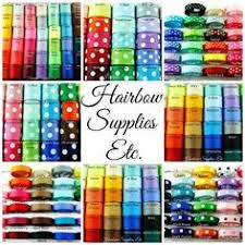 hairbow supplies 3 8 solid ribbon available in 25 colors hairbow supplies