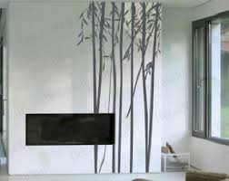 Wall Bedroom Stickers Tree Wall Decal Bamboo Decals Living Room Bedroom Stickers