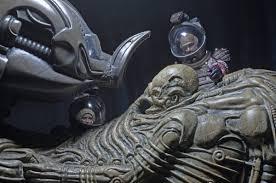 alien fossilized space jockey foam replica necaonline com
