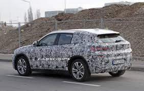 bmw x2 seen roaming the streets of munich with less camo