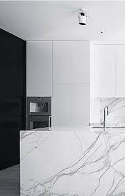 white marble kitchen island 19 of the most stunning modern marble kitchens calacatta marble