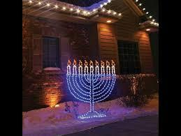 hanukkah lights decorations 14 wonderfully tacky hanukkah decorations you need for your yard