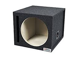 amazon com subwoofers electronics amazon com bbox e12sv 12 inch single vented subwoofer enclosure