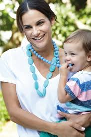 baby beads necklace images Mom necklace fashion baby teething silicone necklace food grade jpg