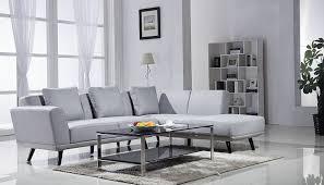 amazon com mid century modern linen large sectional sofa left