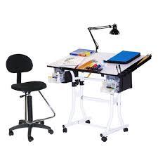 martin universal design drafting table martin universal design white creation station drafting table chair
