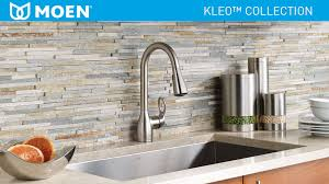 moen kleo kitchen faucet moen kleo single handle pull sprayer kitchen faucet with