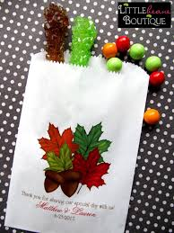 wedding candy bags fall wedding favor bags candy buffet bags