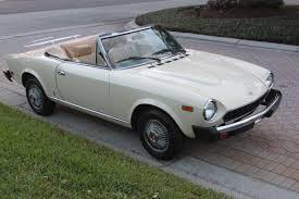 1980 fiat spider 2000 sold vantage sports cars vantage