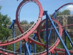 Six Flags Poltergeist Six Flags Fiesta Texas Coaster Net