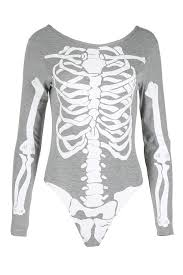 halloween skeleton images womens halloween skeleton bones ladies bodycon tunic t shirt dress