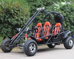 four seat kymoto 200 ultra deluxe go kart 4 seater cvt automatic disc
