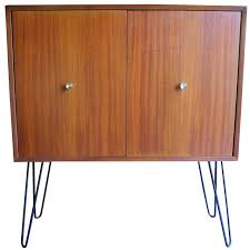 Mid Century Modern Mahogany Storage Cabinet By Morris Sanders For
