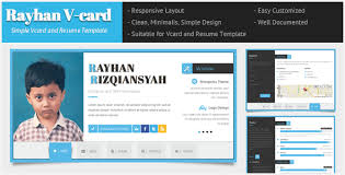 vcard site resume cv template free download thehawaiianportal com