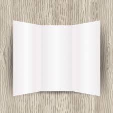 Plain Brochure Template by Blank Brochure Template Vector Free