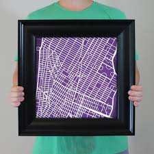 Nyu Map New York University Campus Map Art City Prints