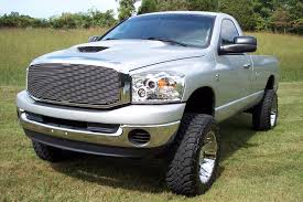 silver lifted dodge ram truck jeeps suvs trucks pinterest