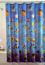 amazon com tropical fish shower curtain home u0026 kitchen