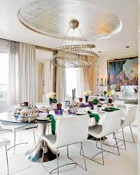 luxury and elegant dining rooms sets brass dining tables