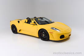 ferrari yellow car 2006 ferrari f430 spider exotic and classic car dealership