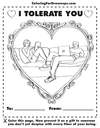coloring books for grown within i tolerate you page eson me