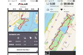 Map My Route Running by Polar M400 Review Fitness Sleep Tracker Watch With Gps