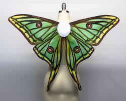 butterfly halloween costume spanish moon moth costume wings green fairy wings moth