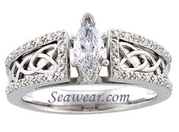 celtic wedding ring sets celtic knot wedding ring set