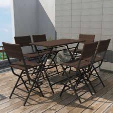 garden patio furniture bar sets ebay
