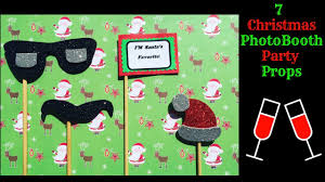 diy christmas photobooth props how to make party props at home