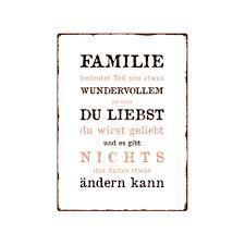 familie sprüche wandschild metallschild familie bedeutet teil dekoration geschenk sha