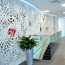 mdf decorative panel for partition walls perforated swiss