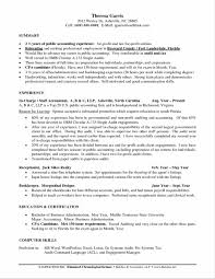 Resume Sample Letters Application by Resume Resume For Accountants Accounting Internship Cpa