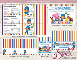 pocoyo party supplies pocoyo party supplies party printables sims creations