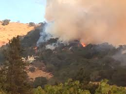Wildfire Woodland Hills Ca by Poetry Inn In Yountville Is Threatened Fire Already On Its