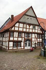 tudor style house world heritage historic old town warburg