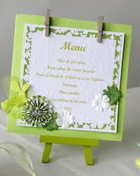 id e menu mariage scrap menu mariage