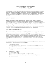 format for writing research paper critical analysis essay example paper literary analysis research literary analysis research paper example phrasecritical ysis of scientific paper professional writing site critical review essay