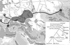 Indo European Language Map by Dienekes U0027 Anthropology Blog Indo Europeans Galore