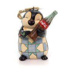 Jim Shore Christmas Ornaments Ebay by Enesco H7 Jim Shore Christmas Coca Cola Penguin W Coke Bottle