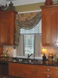 kitchen curtains and valances ideas kitchen draperies ideas