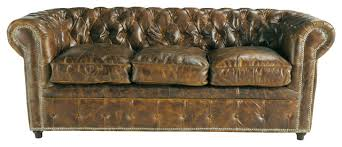canapé chesterfield cuir convertible canapé convertible capitonné chesterfield 3 places en cuir marron