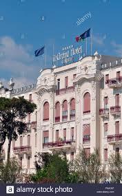 italy emilia romagna rimini the grand hotel rimini stock photo