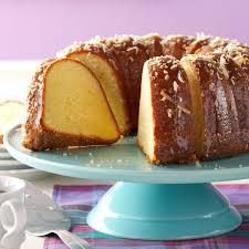 coconut pound cake with lime glaze recipe taste of home