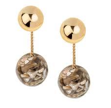drop earring marble drop earring shop shashi