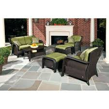 patio ideas 9 in deep seating cushion with box edge sunbrella