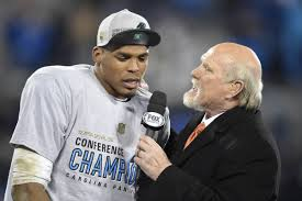 mmbm cam newton disrespected police by calling peyton manning