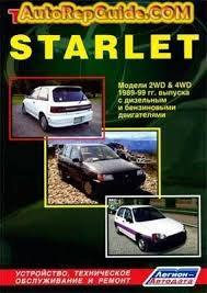 download free toyota starlet 1989 1999 repair manual image